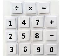 Набор цифр и знаков
