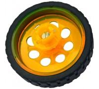 Колесо с резиновой шиной