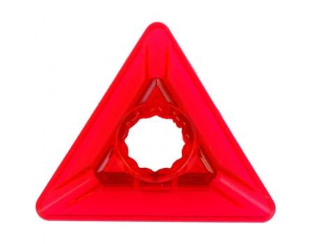 Непрозрачный треугольник с отверстием посередине