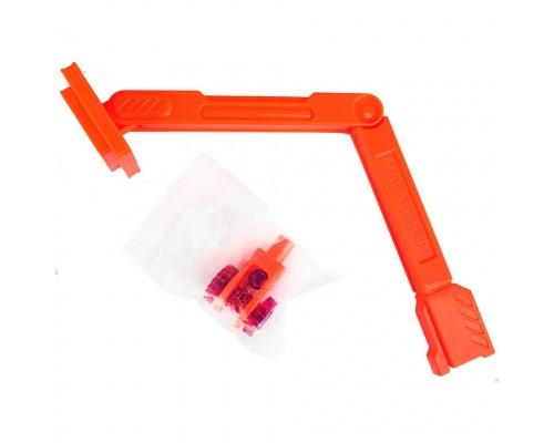 Подъемный кран с веревочным блоком